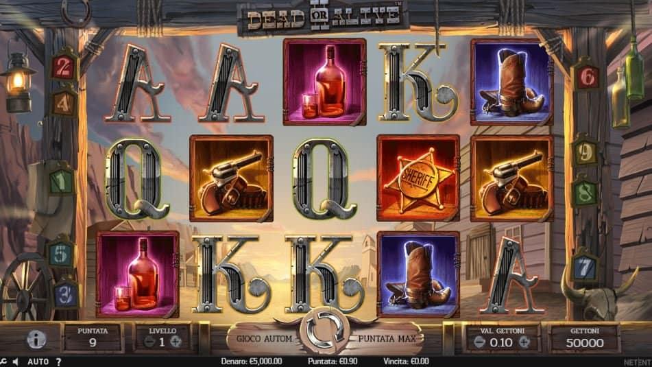 I simboli della slot online Dead or Alive 2