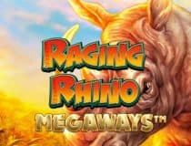 Raging Rhino Megaways logo