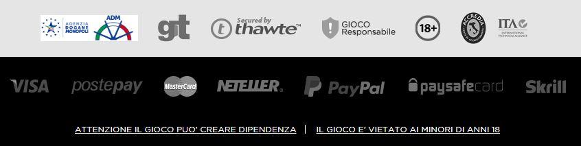 Opzioni de pagamento di casino.com