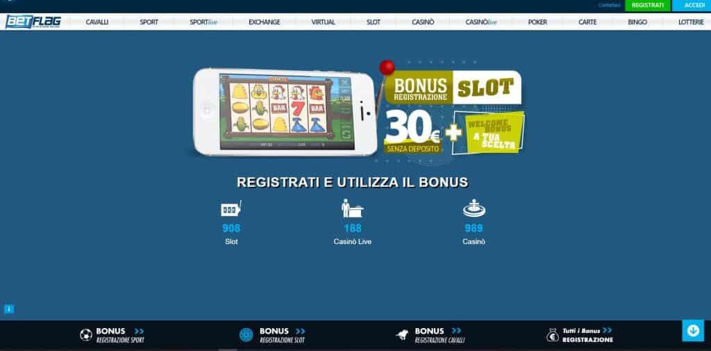 Slot machines su Betflag