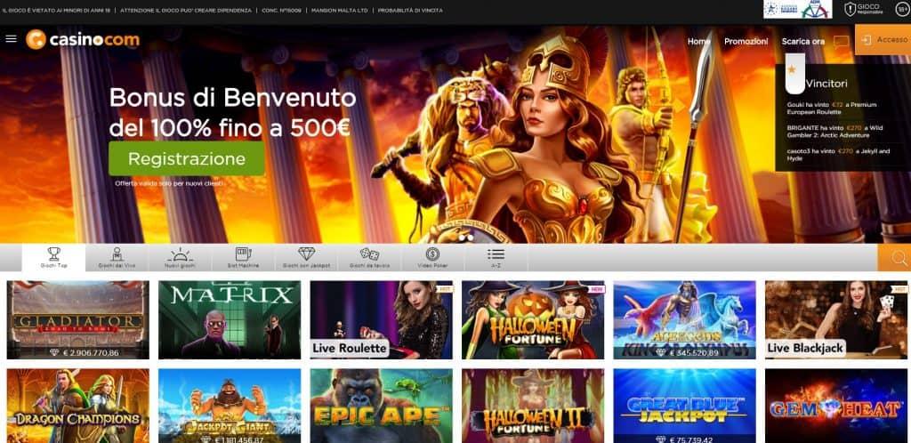 Slot machines su casino.com