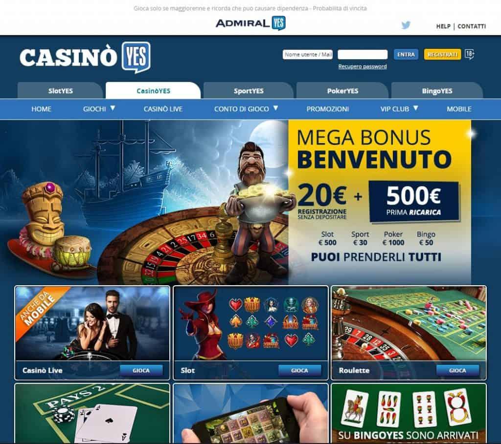 Slot machines su Casinoyes