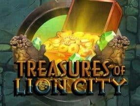 Treasures of Lion City logo