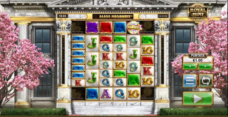 Royal Mint Megaways Slot Machine