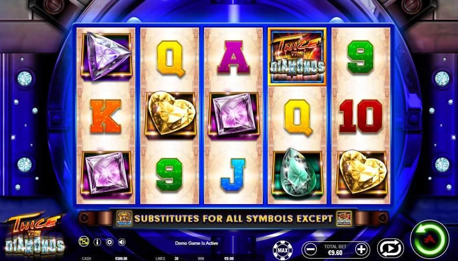 I simboli della slot online Twice the Diamond