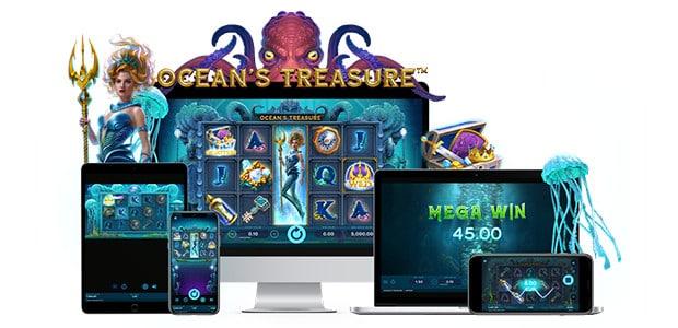 NetEnt lancia la nuova slot Ocean's Treasure