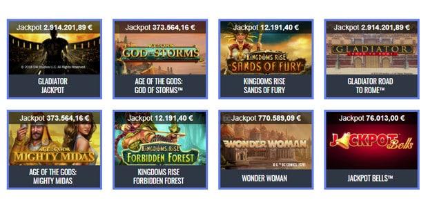 Slot Gladiator di Playtech: jackpot vicino a 3 milioni