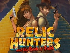 Relic Hunters and the Book of Faith logo