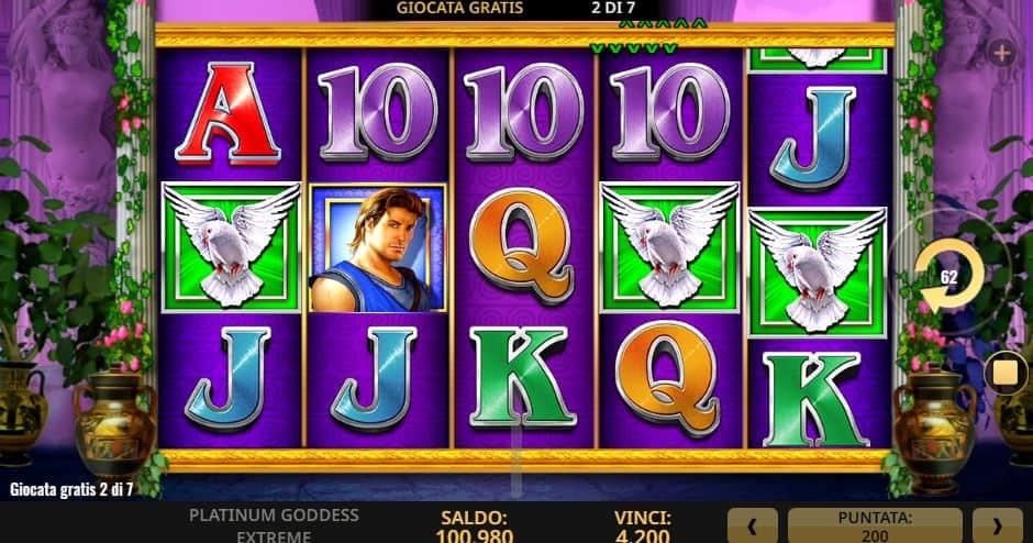 Platinum Goddess Extreme Slot Machine