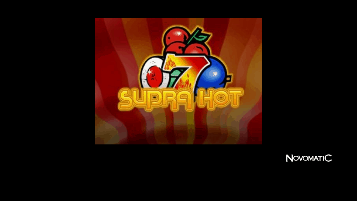 Supra Hot Slot Machine