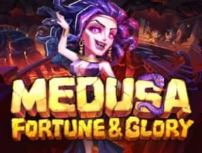 Medusa - Fortune and Glory logo