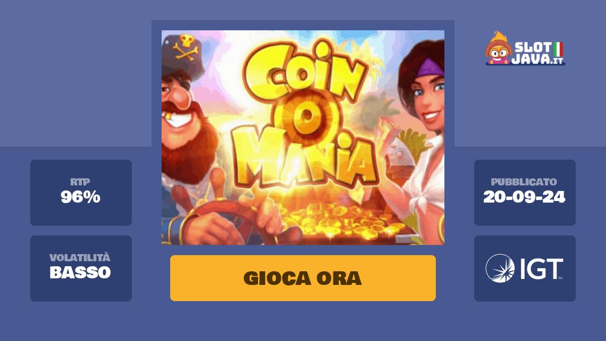 Coin Mania Slot Machine