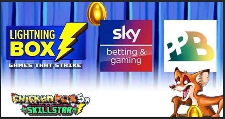 Lightning Box svela la nuova slot: Chicken Fox5x Skillstar