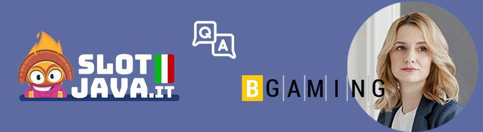 SlotJava intervista Yulia Aliakseyeva, Game Producer di BGaming